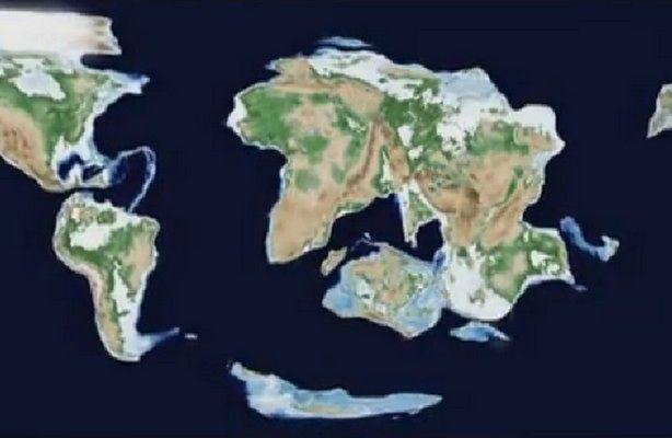 Amazja - nowy superkontynent (fot.: YouTube/KINGDOMCHAOS100)
