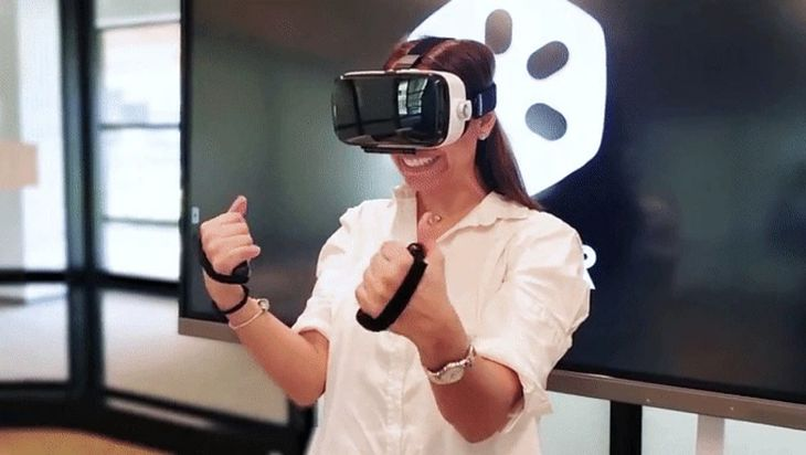 KupVR - naturalne doznania z kontrolerami w VR