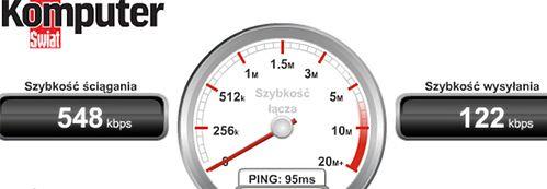 prędkość łącza internetowego