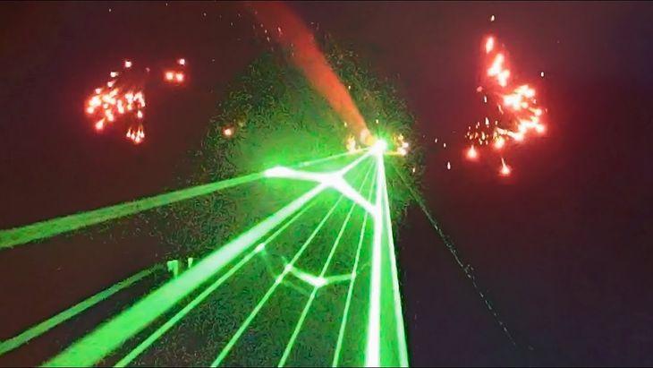 Laser może spowodować poważne zagrożenie dla pilotów