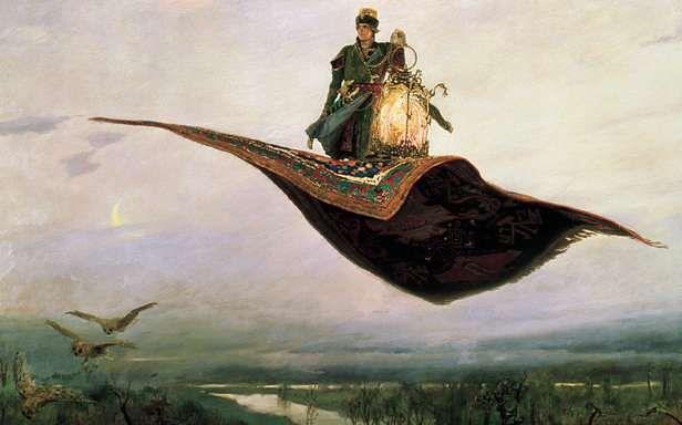 Podróż na latającym dywanie (Fot. Wikimedia Commons)