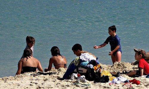Lato - bezpieczne plażowanie