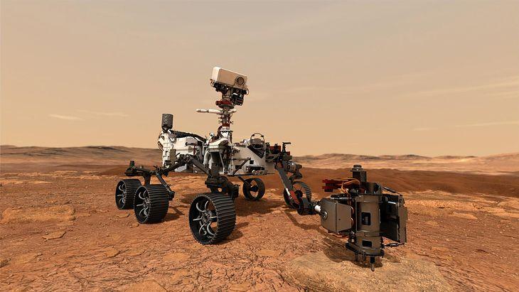 Marsjański łazik będzie szukał śladów życia na Marsie