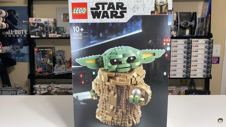 Zestaw LEGO Baby Yoda.