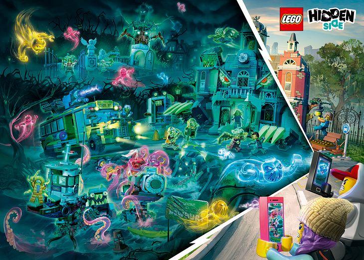 Rozszerzona rzeczywistosć Lego Hidden Side