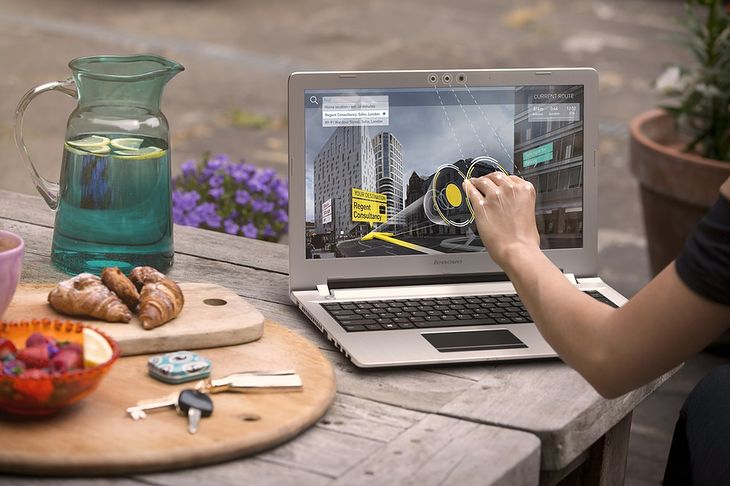 Laptop Lenovo Z51-70 z technologią Intel® Real Sense™