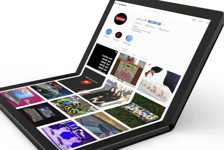 Lenovo ThinkPad X1 - nowy laptop ze składanym ekranem