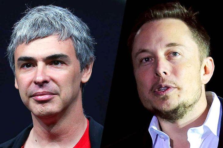 Larry Page i Elon Musk