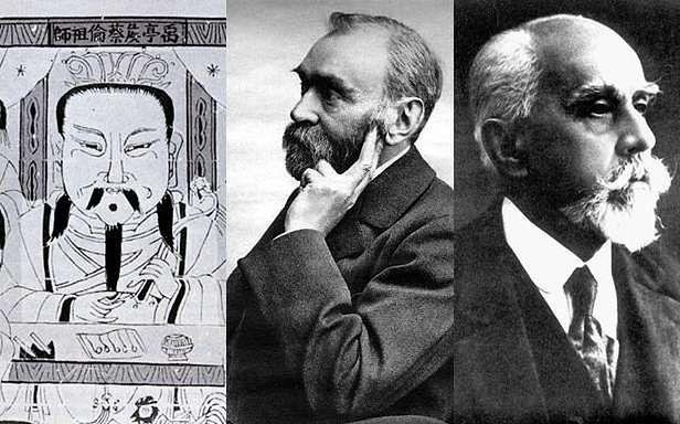 Cai Lun, Alfred Nobel i Stefan Drzewiecki (Fot. Wikimedia Commons)