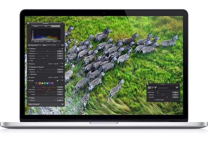 MacBook Pro z wyświetlaczem Retina