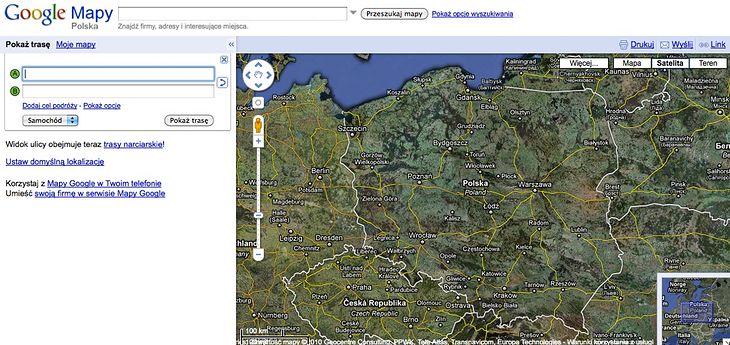 Top 5 Serwisow Z Mapami Online Gadzetomania Pl
