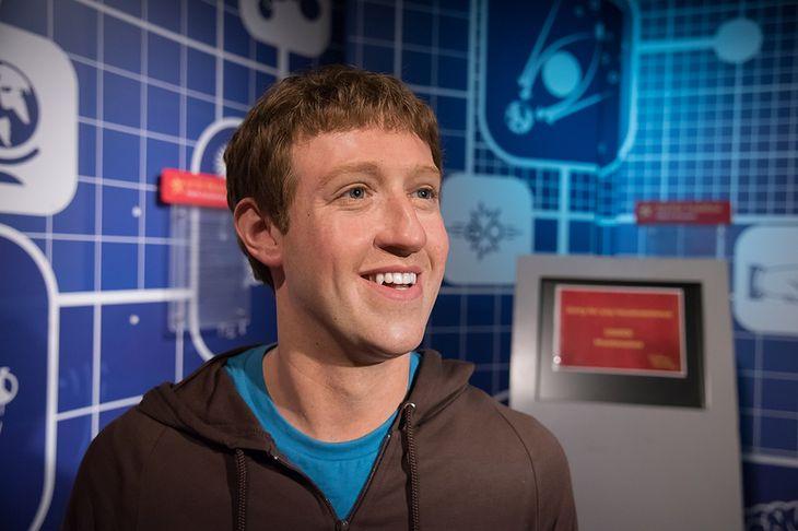 Zdjęcie Marka Zuckerberga pochodzi z serwisu Shutterstock