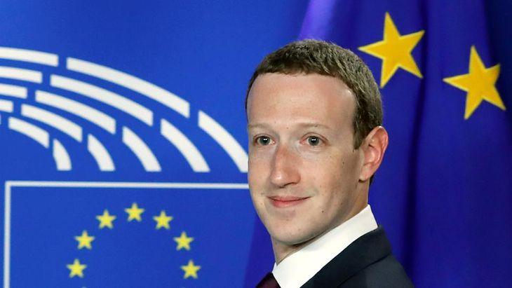 Mark Zuckerberg spotkał się 22 maja z europejskimi politykami