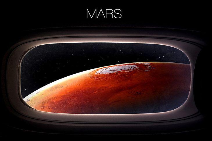 Zdjęcie Marsa pochodzi z serwisu Shutterstock