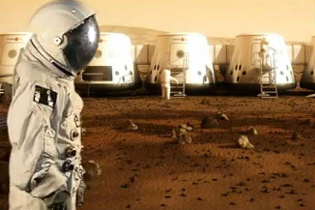 Tak ma wyglądać ludzkie osiedle na Marsie