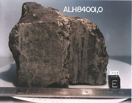 marsjańska skała