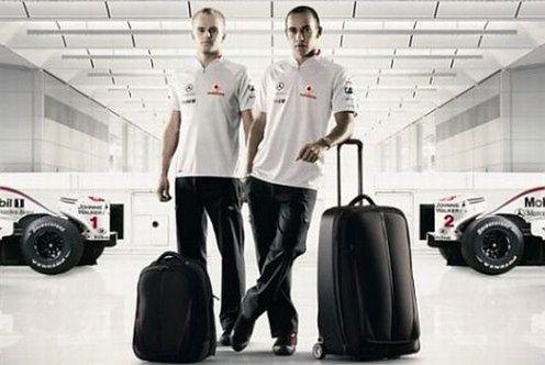 eb37a568aafaf Luksusowe walizki z logiem McLarena   Gadżetomania.pl
