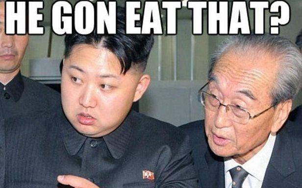 Kim Dzong Un jest bohaterem licznych memów