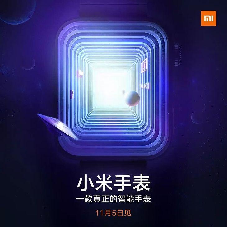 Nie wiadomo, jak będzie wyglądać nowy smartwatch Xiaomi