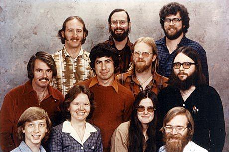 Microsoft w 1978 roku...