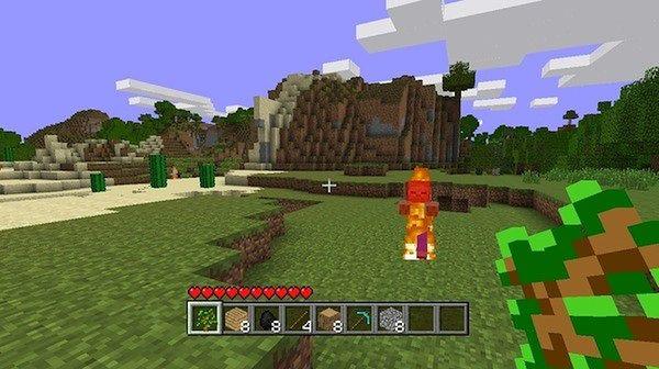 Minecraft na konsole. Hurra? (Fot. Engadget.com)