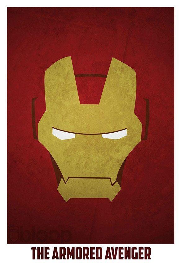 Minimalistyczne Plakaty Z Geekowskimi Bohaterami