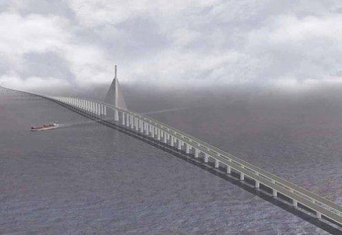 Największy most na świecie będzie miał 21 kilometrów długości