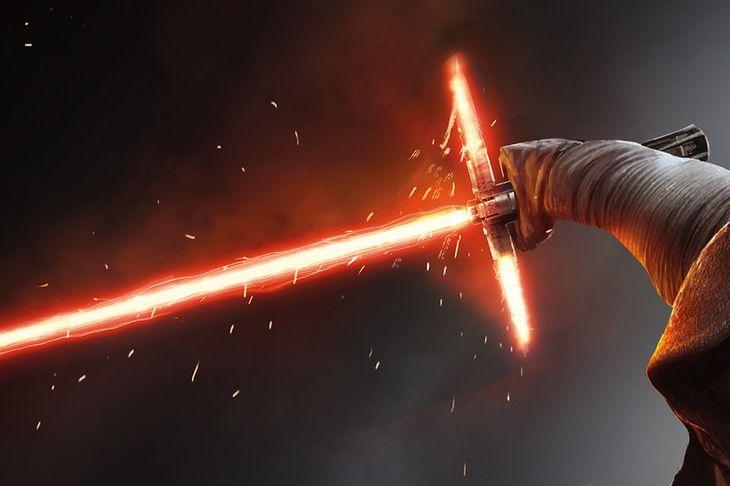 Miecz świetlny, który zbudował Kylo Ren