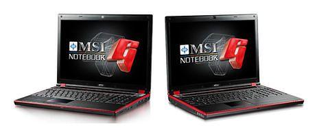 MSI GX620 i GX720 - notebooki dla garczy