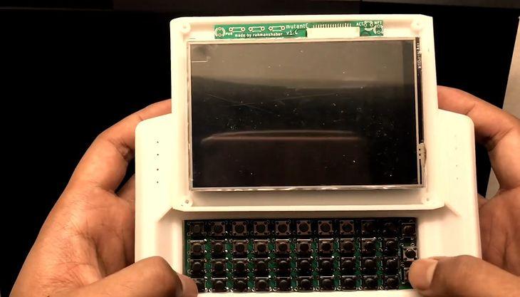 Modułowy handheld PC oparty o Raspberry Pi  MutantC