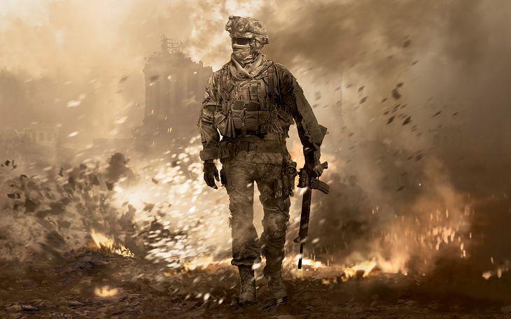 Grafika promocyjna Modern Warfare 2
