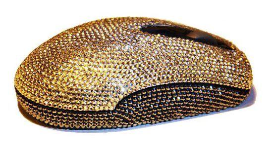 10 najbardziej luksusowych myszy komputerowych na świecie