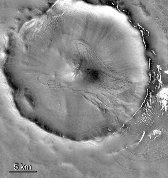 Lodowiec w kraterze