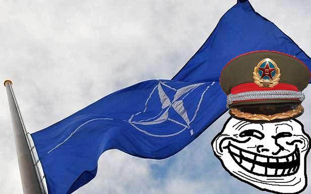 Wpadka NATO na Facebooku (Fot. En.Rian.ru)