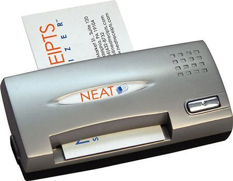 NEAT Receipts skaner wizytowek