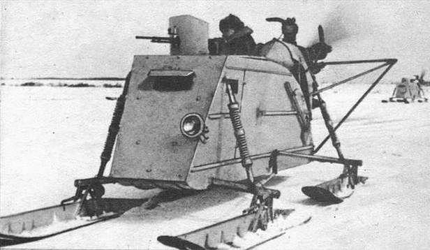 Aerosanie NKŁ-26 (Fot. Tanksinworldwar2.com)