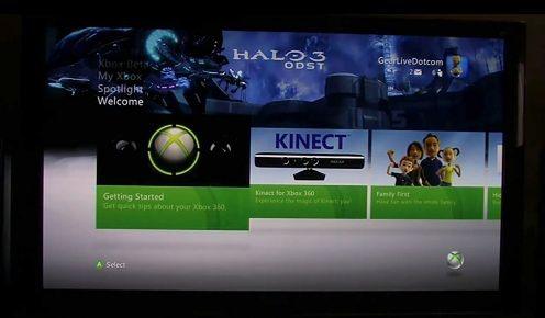 Nowy dashboard Xboxa 360