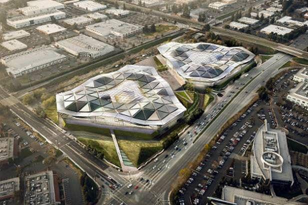 Nvidia - wizualizacja nowej siedziby