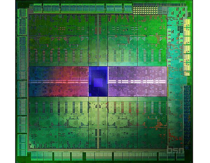 Nvidia GK104 Die Shot (fot. BrightSideOfNews)