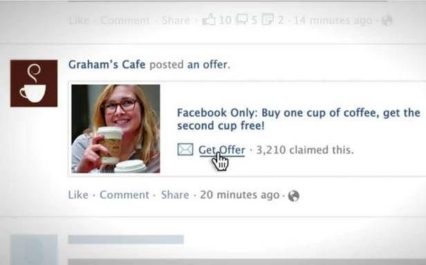 Lubiane strony zaproponują nam na Facebooku promocje i rabaty