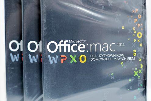 Wygraj pakiet Office Mac 2011
