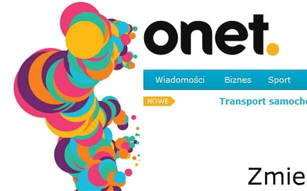 Nowe logo Onetu (Fot. Onet.pl)
