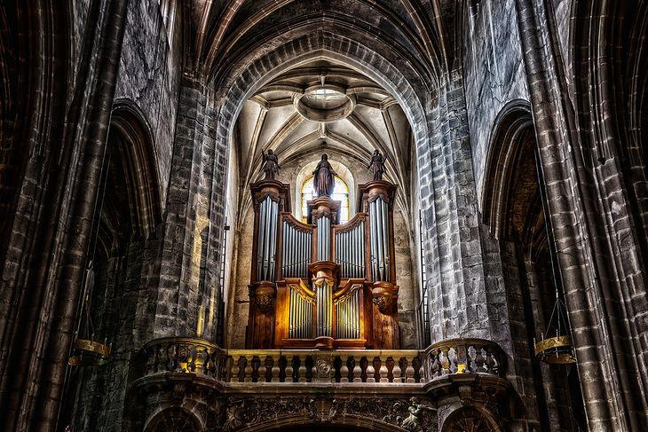 Organy w katedrze Notre Dame