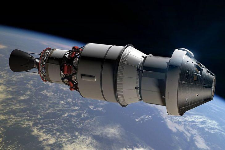 Orion z modułem serwisowym - wizualizacja