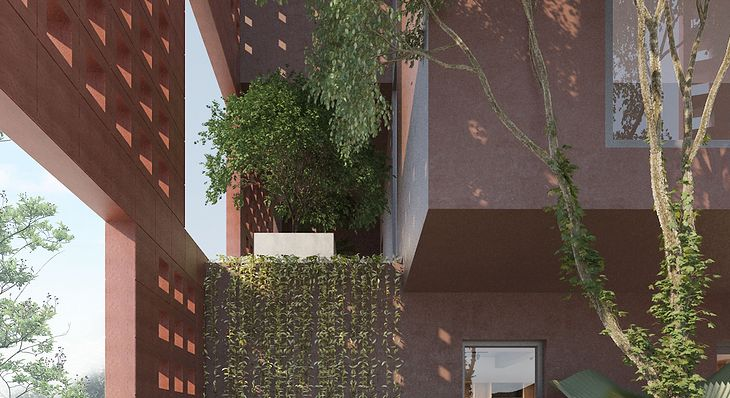 Bat Trang House, fot. VTN Architects