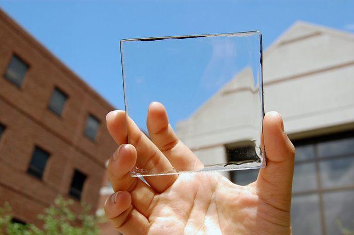 Przezroczysty panel słoneczny