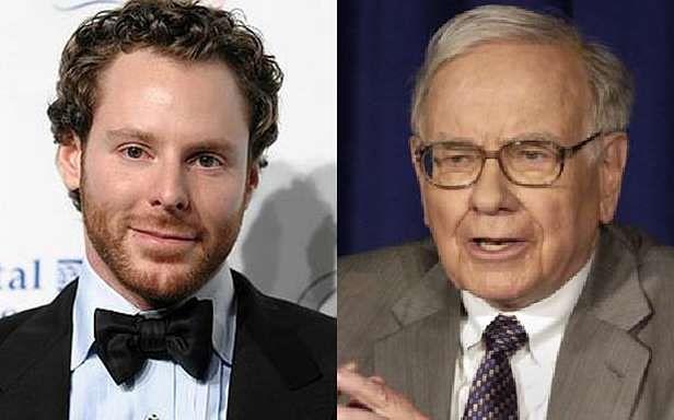 Sean Parker i Warren Buffett (Fot. Gugoo.gr i Matichon.co.th)