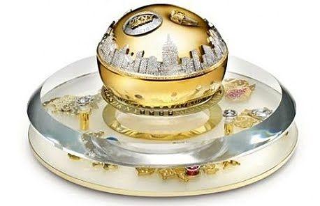 DKNY Golden Delicious Million dollar Fragrance Bottle