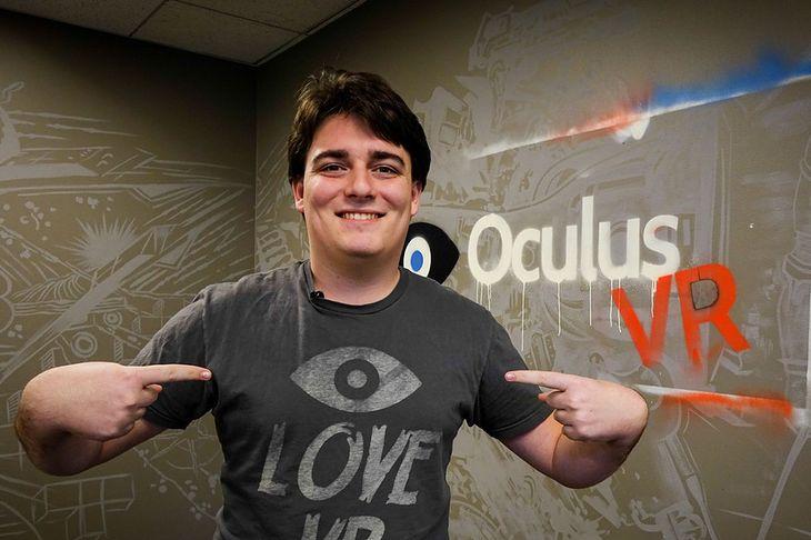 Palmer Luckey, twórca Oculus Rift