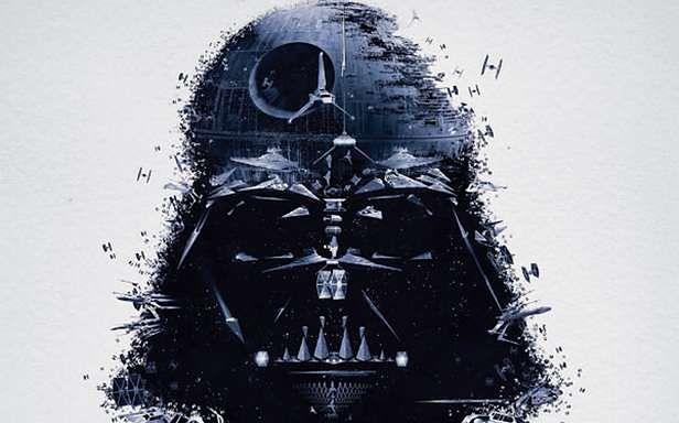 Fragment plakatu promującego wystawę Star Wars Identities